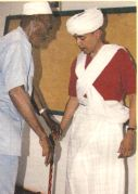 Obama in Somali garb